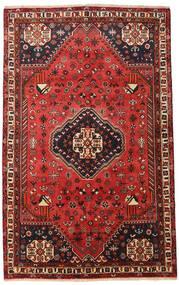 Ghashghai Teppe 156X253 Ekte Orientalsk Håndknyttet Mørk Rød/Rust (Ull, Persia/Iran)