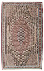 Kelim Senneh Teppe 148X237 Ekte Orientalsk Håndvevd Lys Grå/Lysbrun (Ull, Persia/Iran)