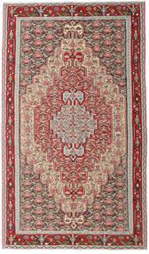 Kelim Senneh Teppe 150X259 Ekte Orientalsk Håndvevd Lys Grå/Beige (Ull, Persia/Iran)