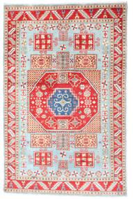 Kazak Teppe 117X181 Ekte Orientalsk Håndknyttet Beige/Hvit/Creme (Ull, Afghanistan)