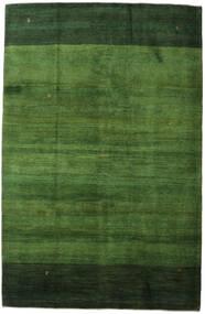 Gabbeh Persia Teppe 198X307 Ekte Moderne Håndknyttet Mørk Grønn/Grønn (Ull, Persia/Iran)
