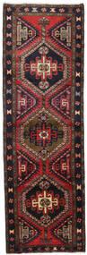 Ardebil Teppe 100X306 Ekte Orientalsk Håndknyttet Teppeløpere Mørk Rød/Mørk Blå (Ull, Persia/Iran)