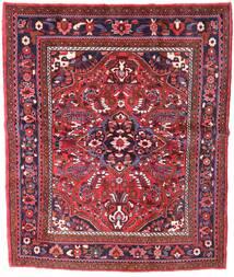 Zanjan Teppe 155X221 Ekte Orientalsk Håndknyttet Mørk Rød (Ull, Persia/Iran)