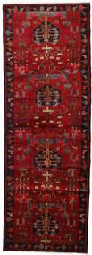 Hamadan Teppe 108X310 Ekte Orientalsk Håndknyttet Teppeløpere Mørk Brun/Mørk Rød/Rød (Ull, Persia/Iran)