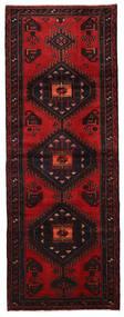 Hamadan Teppe 106X286 Ekte Orientalsk Håndknyttet Teppeløpere Mørk Brun/Mørk Rød (Ull, Persia/Iran)