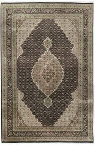 Tabriz Royal Teppe 200X296 Ekte Orientalsk Håndknyttet Lys Grå/Mørk Grå ( India)