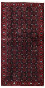 Beluch Teppe 106X200 Ekte Orientalsk Håndknyttet Mørk Rød (Ull, Persia/Iran)