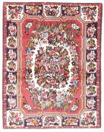 Bakhtiar Teppe 109X142 Ekte Orientalsk Håndknyttet Beige/Lyserosa (Ull, Persia/Iran)