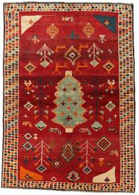 Ghashghai Teppe 145X207 Ekte Orientalsk Håndknyttet Rust/Rød (Ull, Persia/Iran)