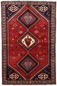 Ghashghai Teppe 155X236 Ekte Orientalsk Håndknyttet Mørk Rød/Rust (Ull, Persia/Iran)