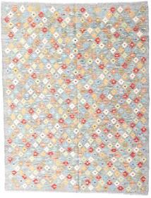 Kelim Afghan Old Style Teppe 151X194 Ekte Orientalsk Håndvevd Lys Grå/Beige (Ull, Afghanistan)