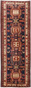 Ardebil Teppe 111X318 Ekte Orientalsk Håndknyttet Teppeløpere Mørk Rød/Svart (Ull, Persia/Iran)