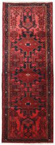 Hamadan Teppe 109X306 Ekte Orientalsk Håndknyttet Teppeløpere Mørk Rød/Rød (Ull, Persia/Iran)