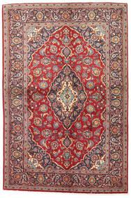 Keshan Teppe 141X215 Ekte Orientalsk Håndknyttet Mørk Rød/Brun (Ull, Persia/Iran)