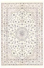 Nain 6La Teppe 151X228 Ekte Orientalsk Håndvevd Beige/Lys Grå (Ull/Silke, Persia/Iran)