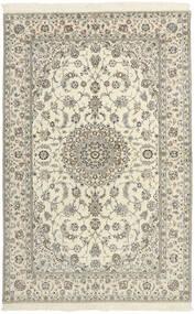 Nain 6La Teppe 154X240 Ekte Orientalsk Håndvevd Beige/Lys Grå (Ull/Silke, Persia/Iran)