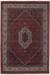 Bidjar Indisk Teppe 169X246 Ekte Orientalsk Håndvevd Mørk Brun/Lysbrun (Ull, India)