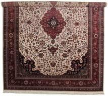 Tabriz Royal Teppe 305X401 Ekte Orientalsk Håndvevd Mørk Rød/Mørk Brun Stort ( India)
