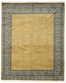 Pakistan Bokhara 3Ply Teppe 200X247 Ekte Orientalsk Håndknyttet Olivengrønn/Gul (Ull, Pakistan)