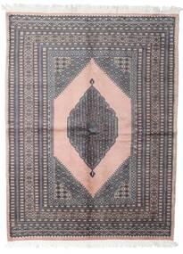 Pakistan Bokhara 3Ply Teppe 147X193 Ekte Orientalsk Håndknyttet Mørk Grå/Hvit/Creme (Ull, Pakistan)