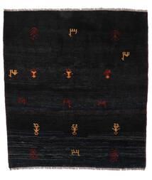 Gabbeh Rustic Teppe 153X169 Ekte Moderne Håndknyttet Svart (Ull, Persia/Iran)