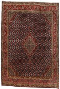 Bidjar Teppe 224X333 Ekte Orientalsk Håndknyttet Mørk Brun/Mørk Rød (Ull, Persia/Iran)