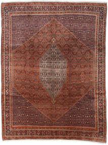 Bidjar Teppe 285X374 Ekte Orientalsk Håndknyttet Mørk Brun/Mørk Rød Stort (Ull, Persia/Iran)