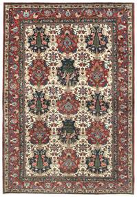 Bakhtiar Teppe 211X305 Ekte Orientalsk Håndknyttet Mørk Grå/Beige (Ull, Persia/Iran)