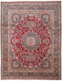 Kerman Teppe 303X391 Ekte Orientalsk Håndknyttet Mørk Grå/Mørk Rød Stort (Ull, Persia/Iran)