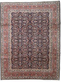Hamadan Teppe 277X360 Ekte Orientalsk Håndknyttet Lys Grå/Mørk Brun Stort (Ull, Persia/Iran)