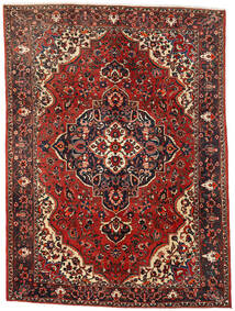 Bakhtiar Teppe 260X353 Ekte Orientalsk Håndknyttet Mørk Rød/Mørk Brun Stort (Ull, Persia/Iran)