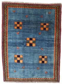 Gabbeh Rustic Teppe 186X249 Ekte Moderne Håndknyttet Blå/Mørk Blå (Ull, Persia/Iran)