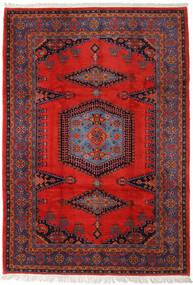 Wiss Teppe 256X368 Ekte Orientalsk Håndknyttet Rust/Mørk Rød Stort (Ull, Persia/Iran)