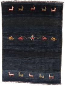 Gabbeh Rustic Teppe 127X166 Ekte Moderne Håndknyttet Mørk Blå (Ull, Persia/Iran)