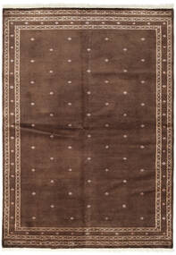 Pakistan Bokhara 2Ply Teppe 166X231 Ekte Orientalsk Håndknyttet Mørk Rød/Brun (Ull, Pakistan)