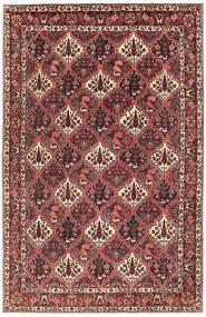 Bakhtiar Teppe 200X303 Ekte Orientalsk Håndknyttet Mørk Rød/Mørk Brun (Ull, Persia/Iran)