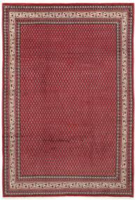 Sarough Mir Teppe 212X310 Ekte Orientalsk Håndknyttet Rød/Mørk Rød (Ull, Persia/Iran)