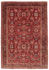 Nanadj Teppe 225X318 Ekte Orientalsk Håndknyttet Mørk Rød (Ull, Persia/Iran)
