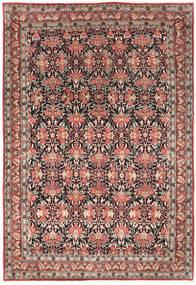 Bidjar Teppe 214X319 Ekte Orientalsk Håndknyttet Mørk Rød/Mørk Brun (Ull, Persia/Iran)