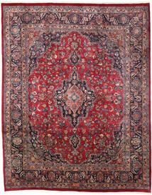 Mashad Teppe 240X300 Ekte Orientalsk Håndknyttet Mørk Blå/Mørk Rød (Ull, Persia/Iran)