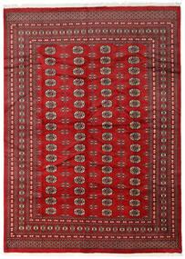 Pakistan Bokhara 2Ply Teppe 218X305 Ekte Orientalsk Håndknyttet Mørk Rød/Rød (Ull, Pakistan)