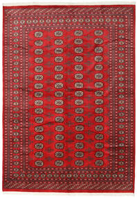 Pakistan Bokhara 2Ply Teppe 215X302 Ekte Orientalsk Håndknyttet Rød/Mørk Rød (Ull, Pakistan)
