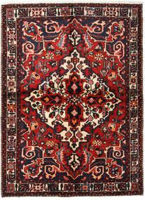 Bakhtiar Teppe 155X213 Ekte Orientalsk Håndknyttet Mørk Brun/Mørk Rød (Ull, Persia/Iran)