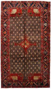 Koliai Teppe 150X261 Ekte Orientalsk Håndknyttet Mørk Brun/Mørk Rød (Ull, Persia/Iran)