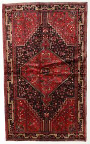 Toiserkan Teppe 127X212 Ekte Orientalsk Håndknyttet Mørk Rød/Mørk Brun (Ull, Persia/Iran)