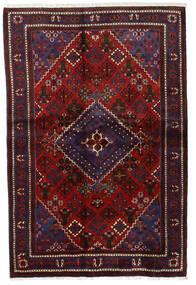 Joshaghan Teppe 135X204 Ekte Orientalsk Håndknyttet Mørk Rød/Mørk Brun (Ull, Persia/Iran)