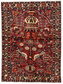 Bakhtiar Teppe 156X209 Ekte Orientalsk Håndknyttet Mørk Rød/Mørk Brun (Ull, Persia/Iran)