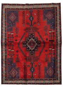Afshar Teppe 166X222 Ekte Orientalsk Håndknyttet Rust/Mørk Brun/Mørk Rød (Ull, Persia/Iran)