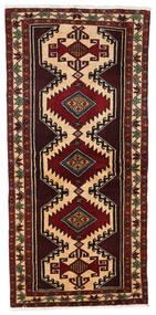 Beluch Teppe 96X201 Ekte Orientalsk Håndknyttet Mørk Rød (Ull, Persia/Iran)