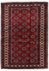 Beluch Teppe 127X184 Ekte Orientalsk Håndknyttet Mørk Rød/Mørk Brun (Ull, Persia/Iran)